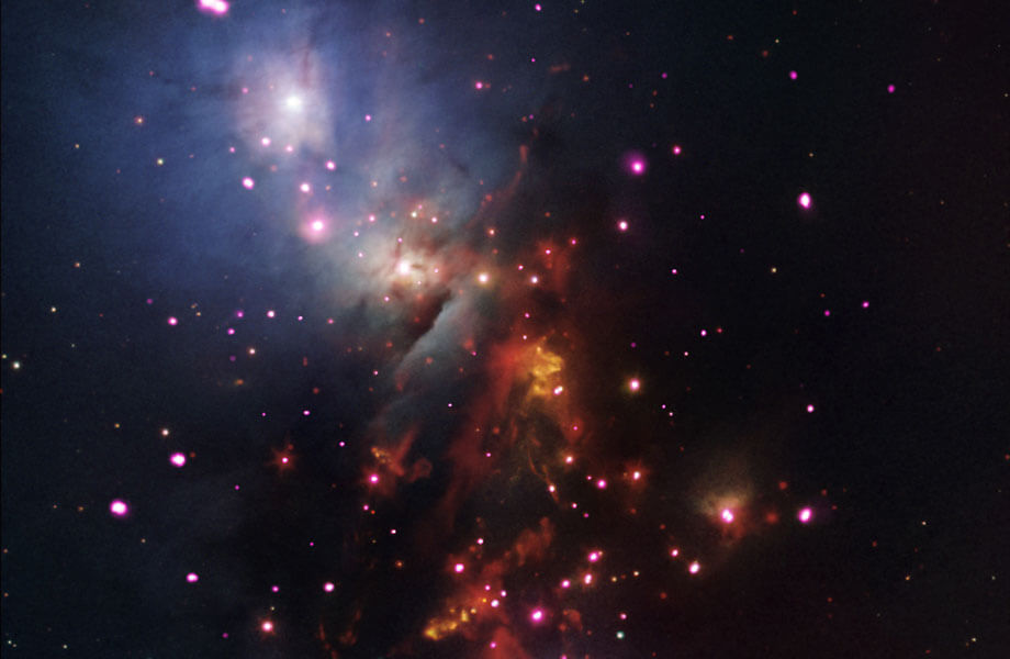 Blick in einen Sternhaufen