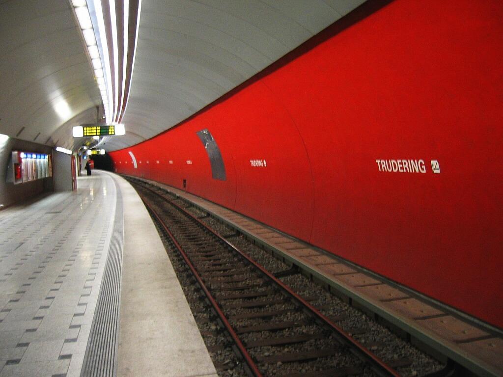 U-Bahnhof in München-Trudering