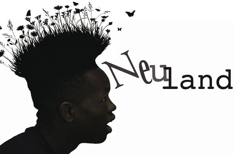 """Plakat für """"Neuland"""""""