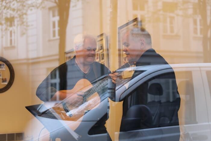 Christoph Bückers und Lothar Thiel