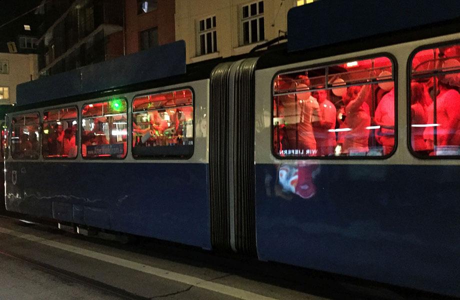 Partytram in München