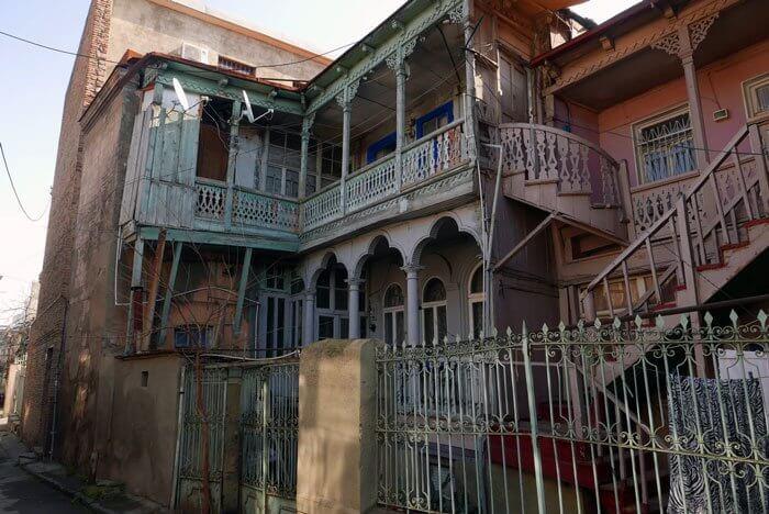 Altes Haus in Tiflis