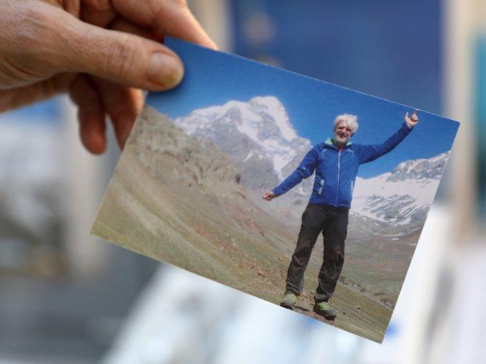 Mit 70 aufs Dach der Welt