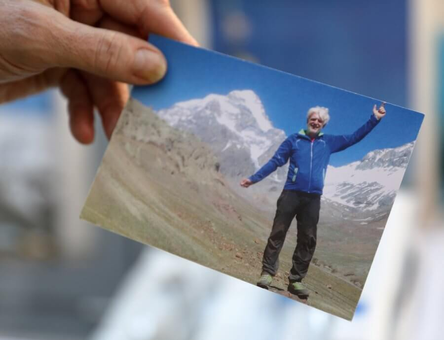 Auf dem Gipfel des Aconcagua