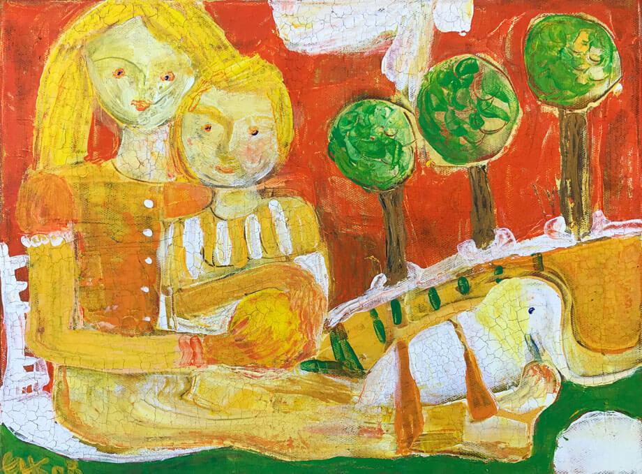 Elfriede Hafner-Kroseberg: Kindheit