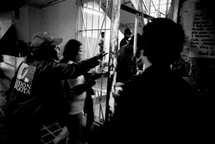 Im Frauengefängnis in Bogotà