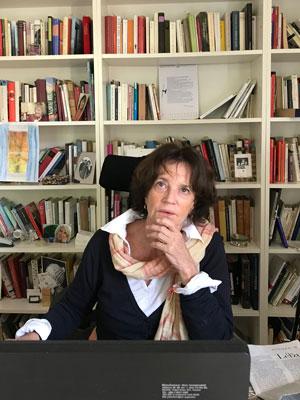 Lesende Cornelia von Schelling