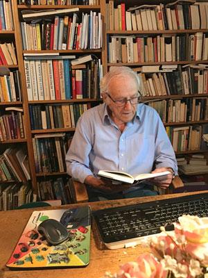 Lesender Markus Dosch