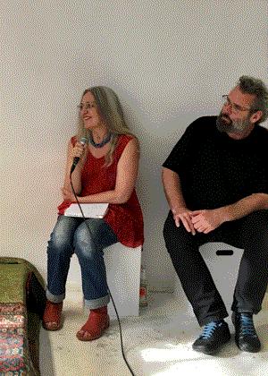 Moderatoren Ulrike und Christian Auras