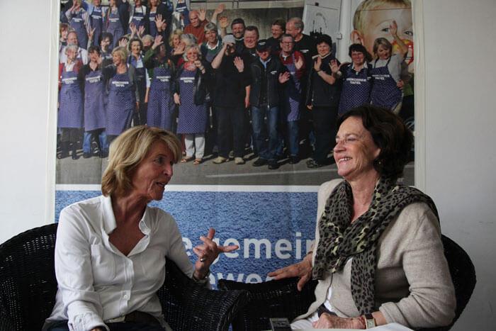 Münchner Tafel, Hannelore Kiethe und Cornelia von Schelling