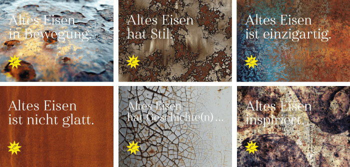 """Die Karten """"Altes Eisen"""""""