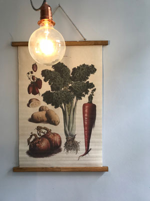 Dekoration im Café Two in One