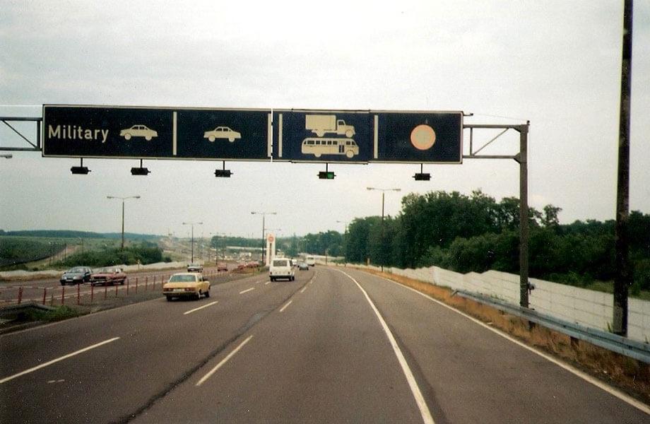 DDR Grenzschilder