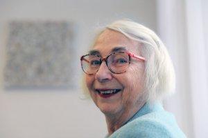 Barbara Osterwald läßt sich vom Alter nicht ausbremsen. Foto: Anne Bauer