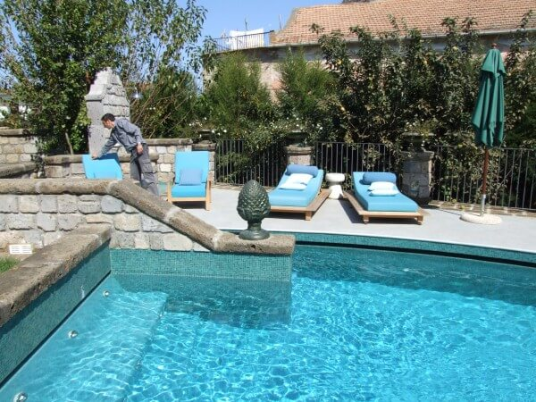 Der Pool ist bereit