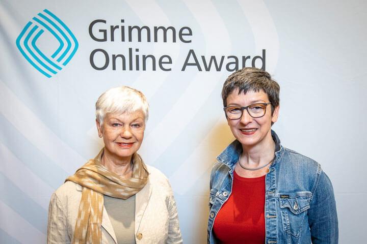 GrimmeOnlineAward2019: Ulrike Ziegler und Anne Bauer, Nominierung