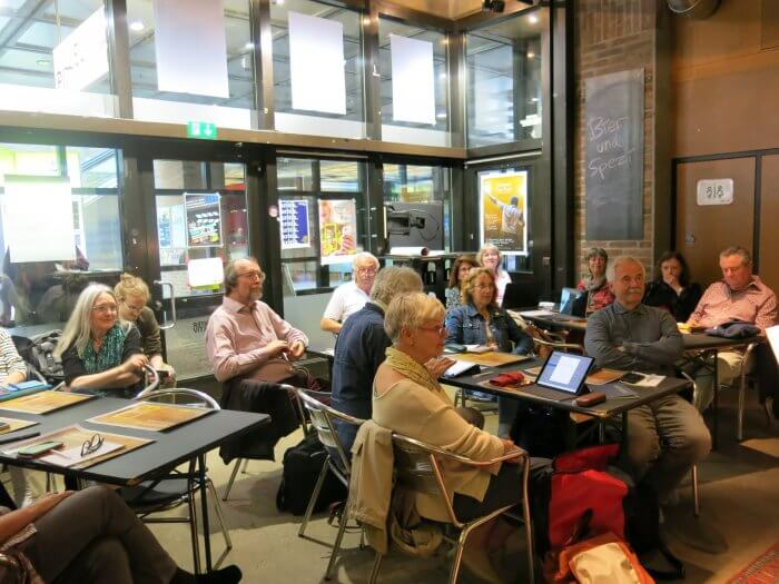 Es waren einige bekannte Gesichter unter den Teilnehmern. Foto: Heike Braun