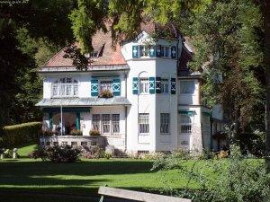 Die Villa der Familie Strauss in Garmisch.Foto: fotocommunity.de