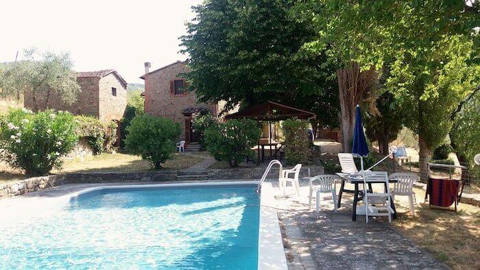 Ein Landhaus in der Toskana