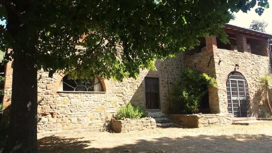 Das Landhaus in der Toskana. Foto: Hans-Jürgen Bischoff