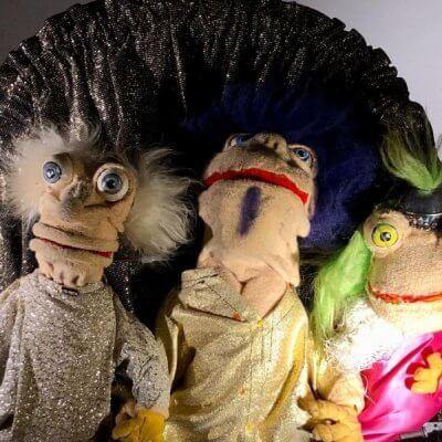 Die vergnüglichen Puppen.