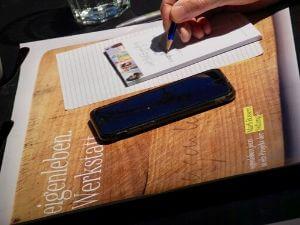 Digital trifft analog. Foto: Andreas Sebastian Müller