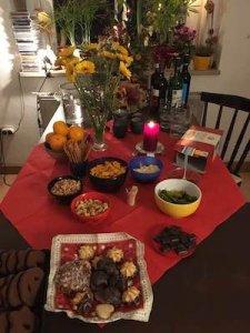 Leckere Snacks und Getränke standen in der Pause bereit. Foto: Anne Bauer