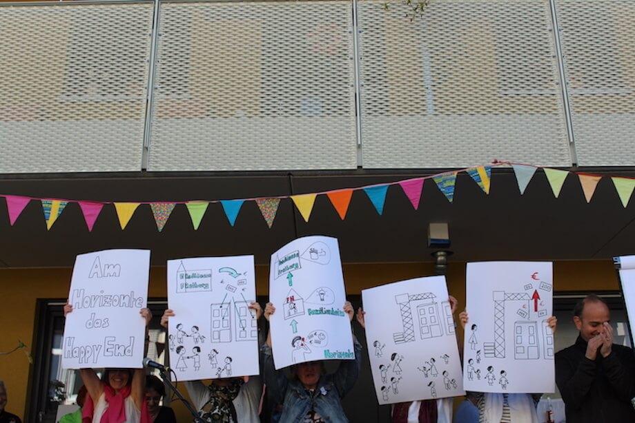 Einweihungfest des Wohnprojekts Horizonte. Foto: Suraj Anand