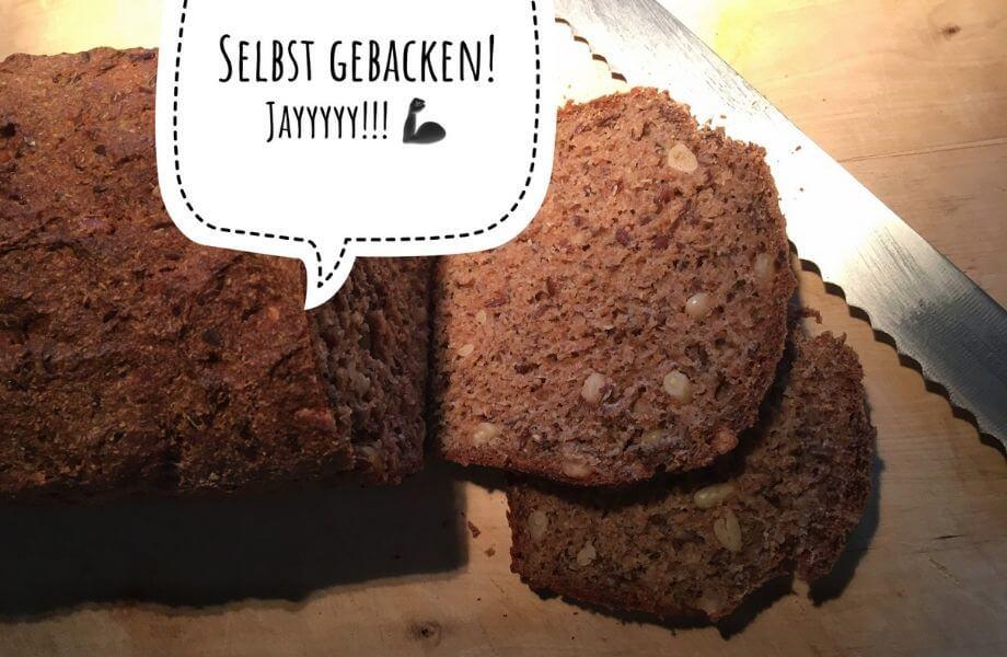 Frisch gebackenes Brot aus der digitalen Backstube.