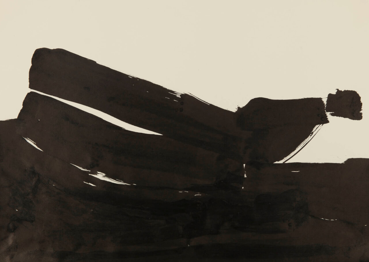 Bild: Michael C. Peters, 2001-2011 - Tusche auf Papier - 50 x 70