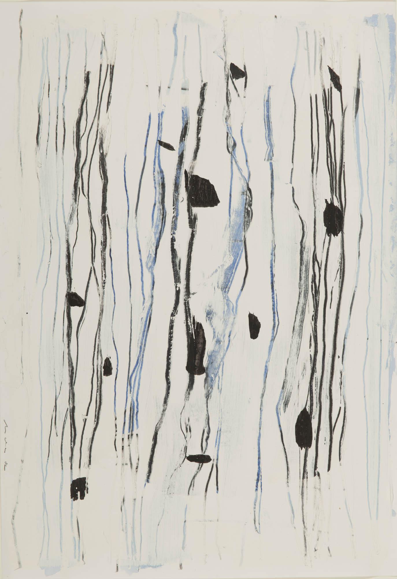 Bild: Michael C. Peters, 2001-2011 - Akryl, Tusche, Stift auf Papier - 30 x 40