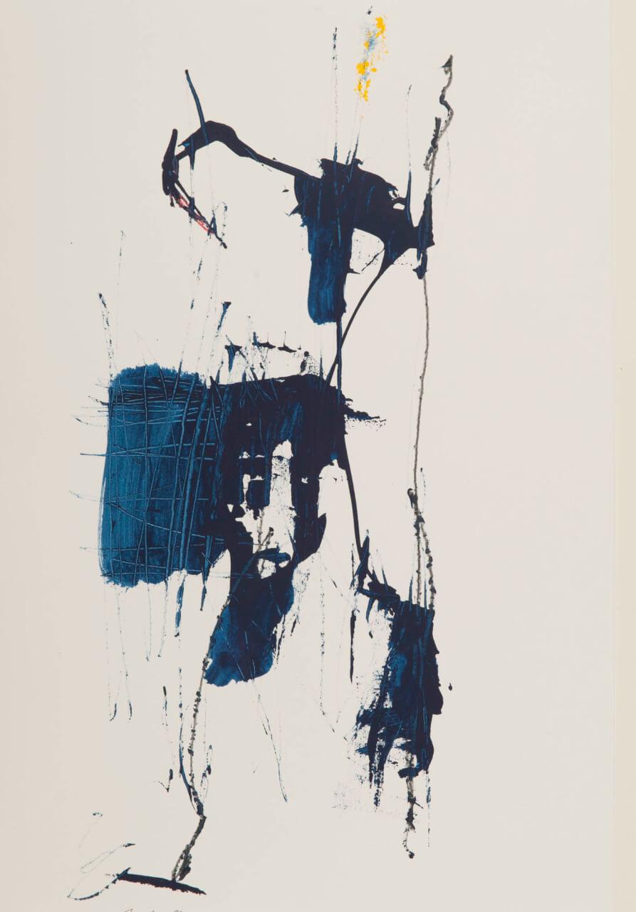 Bild: Michael C. Peters, 2001-2011 - Akryl, Stift auf Papier - 30 x 40