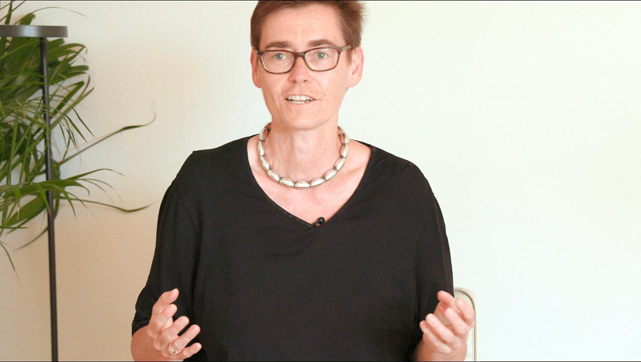 Margaret Heckel im Gespräch beim eigenlebenFestival.