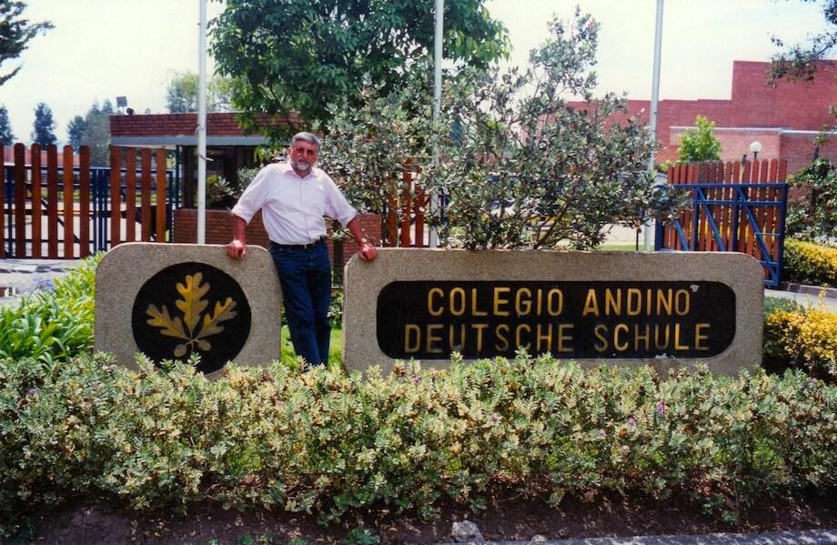 Die deutsche Schule in Bogotá. Foto: Privat