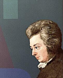 Mozart-Porträt .Foto: Ulrike Ziegler
