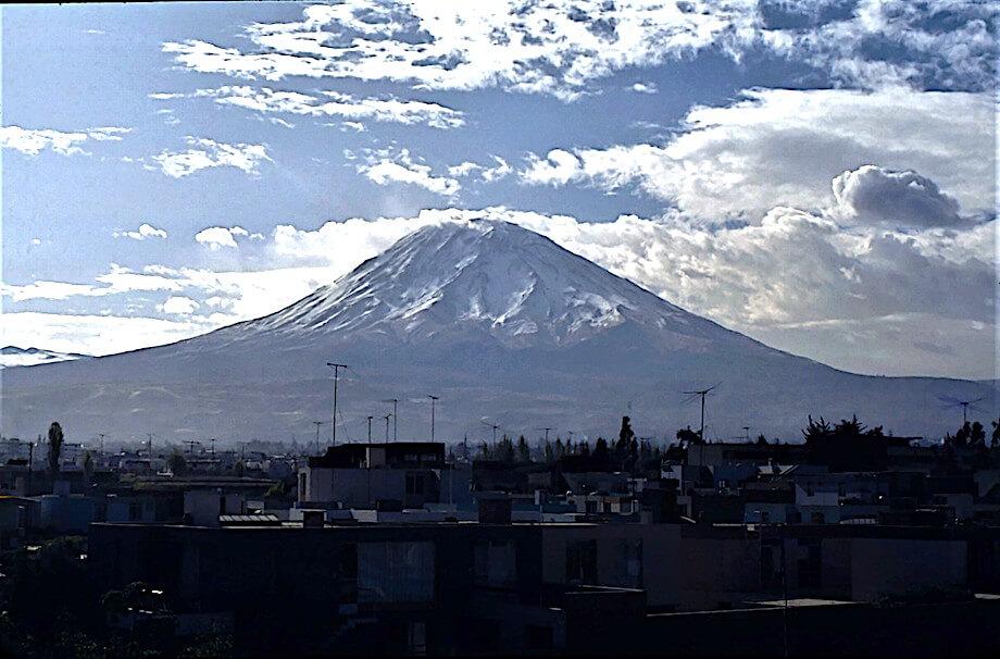Vulkan Misti. Foto: Privat